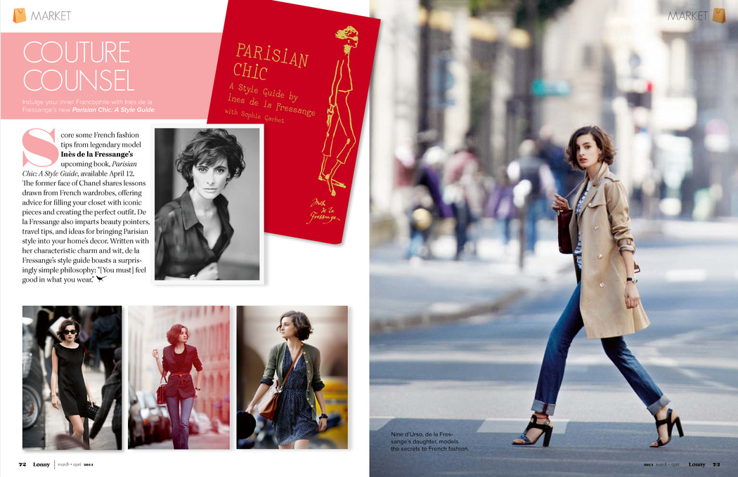Gimme Of The Day Parisian Chic By Ines De La Fressange