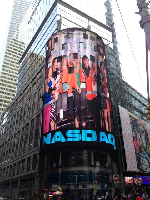 The Stella & Dot Foundation Rings The NASDAQ Stock Market Closing Bell (1/6)
