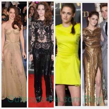Kristen Stewart wearing Zuhair Murhad,Dior,Elie Saab at the Breaking Dawn 2 Premiers in LA,London,Madrid and Berlin