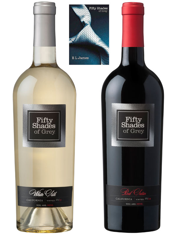 Fifty Shades of Grey inspired Wines