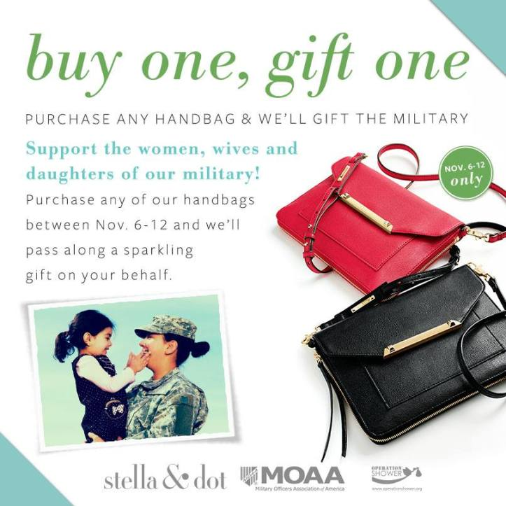 Stella & Dot Buy 1 Gift 1