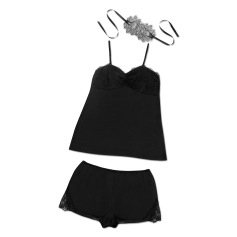 Cami Set Black