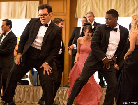 """Jimmy (Kevin Hart) with Doug (Josh Gad) in Screen Gems' """"The Wedding Ringer."""" (Sony Pictures Entertainment Inc.)"""