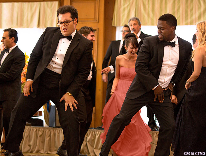 "Jimmy (Kevin Hart) with Doug (Josh Gad) in Screen Gems' ""The Wedding Ringer."" (Sony Pictures Entertainment Inc.)"