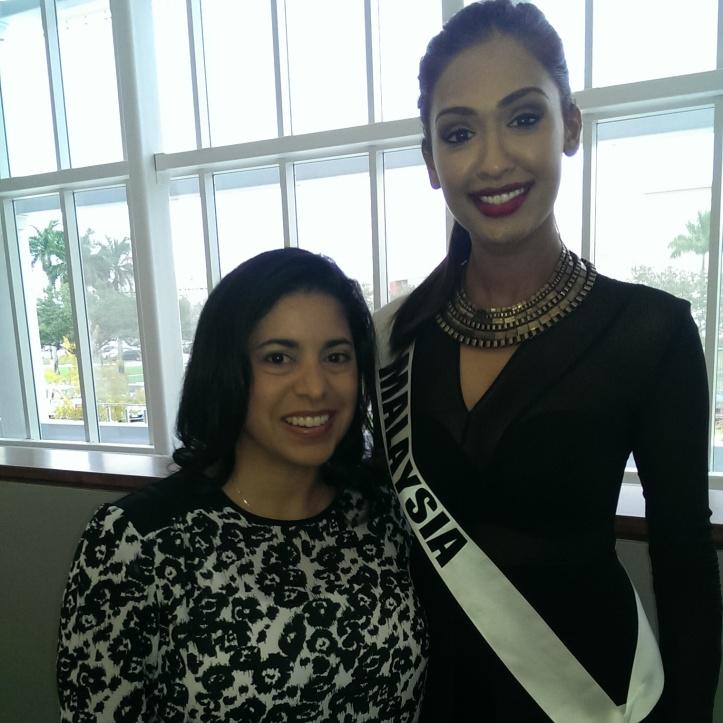 Miss Malaysia Sabrina Beneet