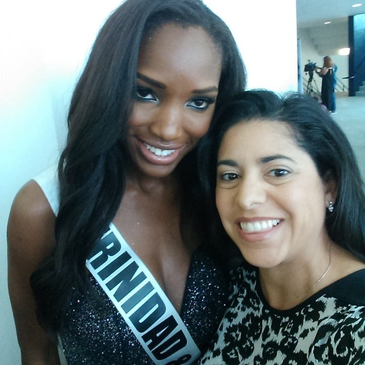 Miss Trinidad & Tobago Jevon King