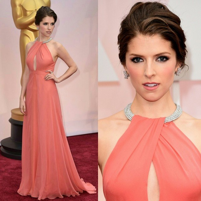 Anna Kendrick in a Thakoon dress