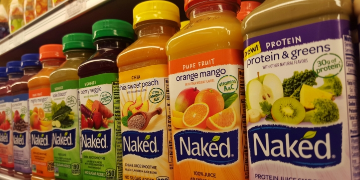 28 flavors of Naked Juice